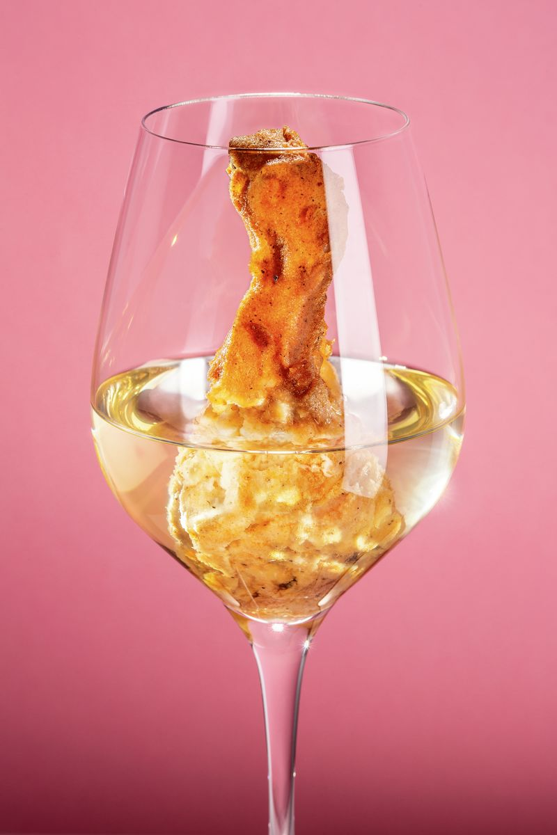 White Wine and Fried Chicken - Hot Chip