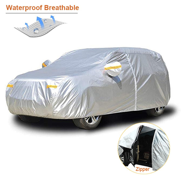 Kayme Waterproof Car Covers Outdoor Sun Protection