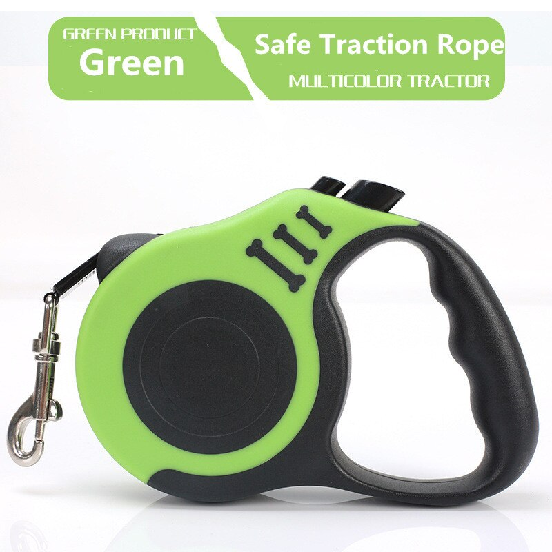 Retractable Dog Leash Automatic Flexible Rope