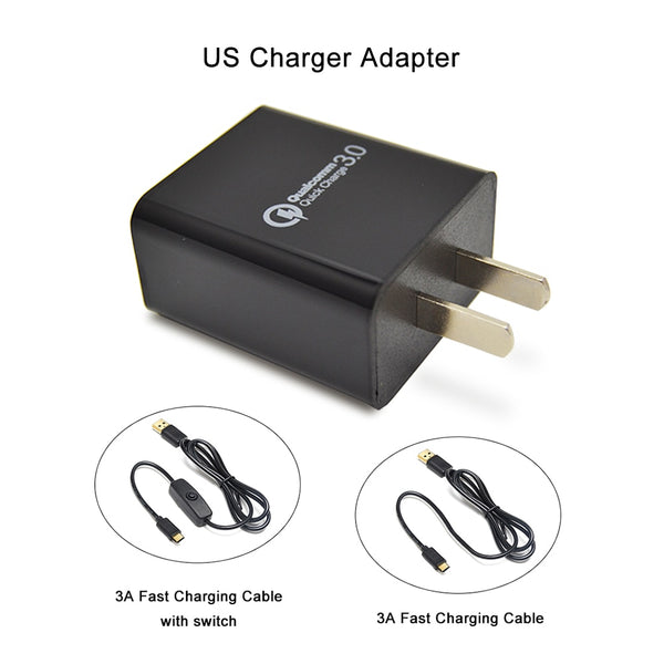 Raspberry pi 4B  5V 3A US Charger Adapter USB Charger Power Home Travel Adapter Charger