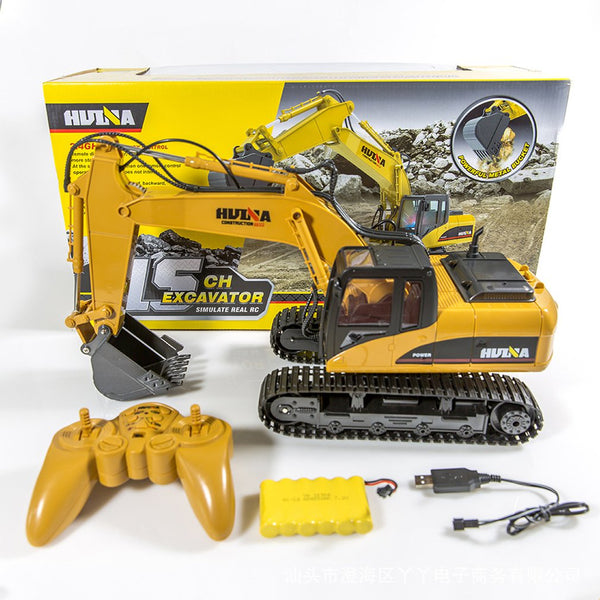 RC Truck Excavator 15CH 1:14 Construction Digger