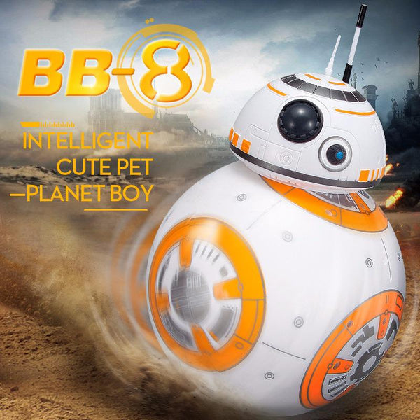 RC BB8 Robot With Sound & Dancing Action Figure