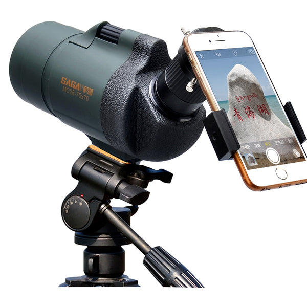 Spotting Scope MC25-75x70 Zoom Monocular Telescope