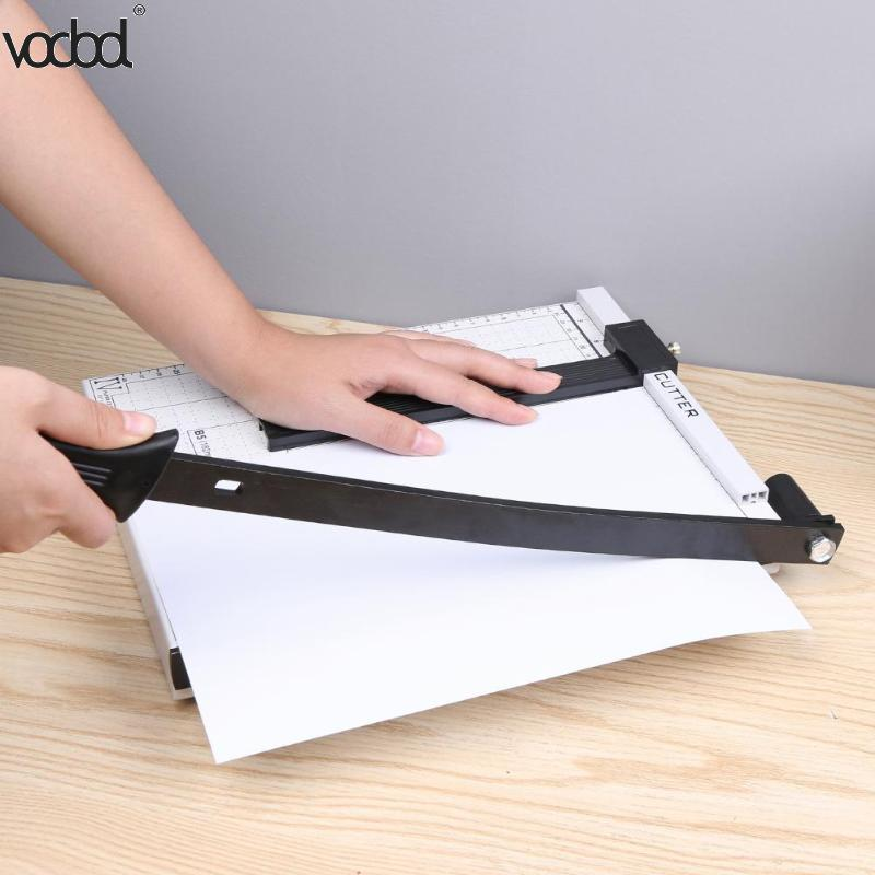 Professional A4 Paper Card Trimmer Guillotine DIY Scrapbook Photo Cutter Office Paper Cutter Cutting Portable Paper Trimmer New