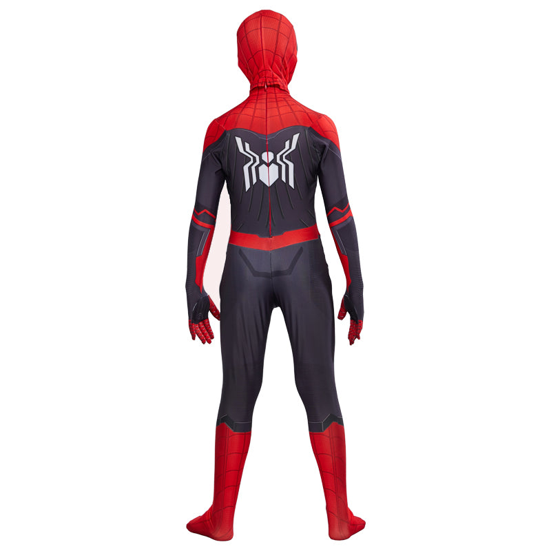 Kids Spider Man Far From Home Peter Parker Cosplay Costume Zentai Spiderman