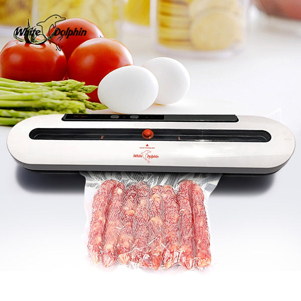 Food Vacuum Sealer Packaging Machine With 10 Bags Free