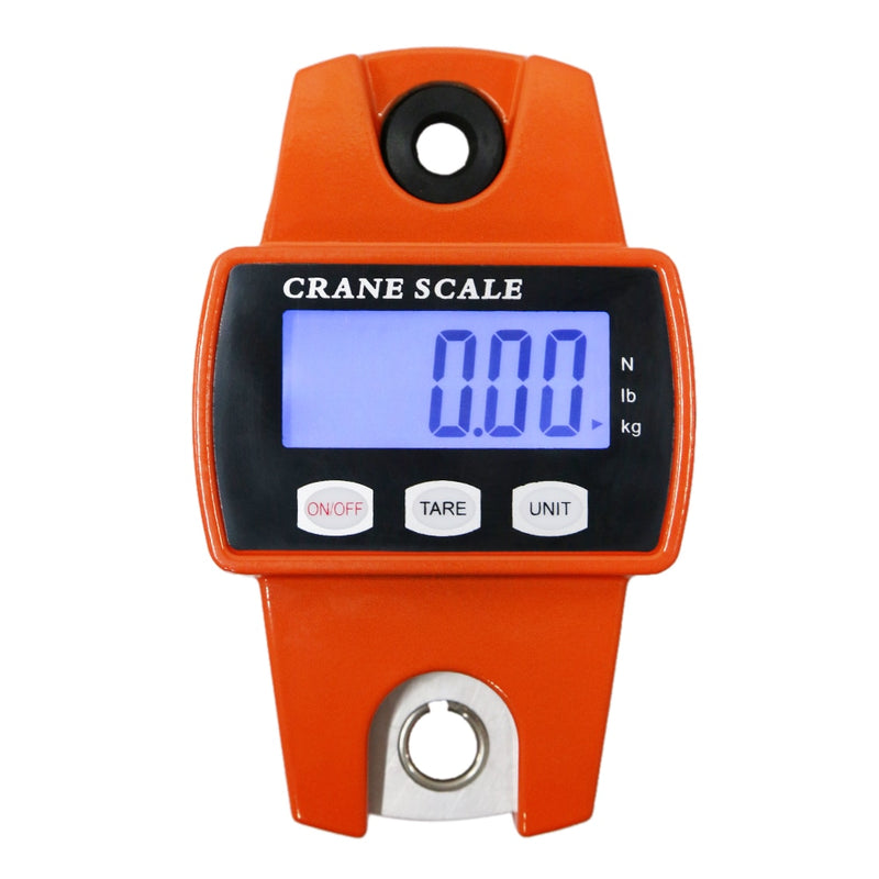Mini Digital Crane Scale 300kg Portable LCD Electronic Stainless Steel