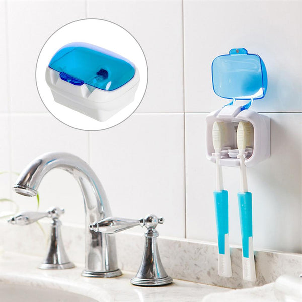 Toothbrush Sterilizer Wall-mounted UV Lamp Disinfection