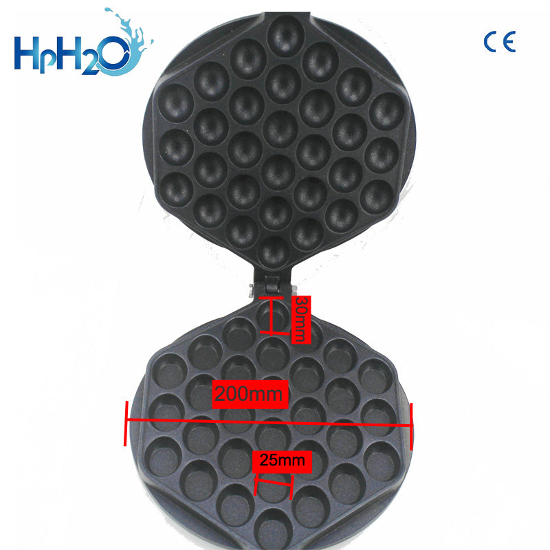 Commercial Electric Non-stick Pan Egg Bubble Waffle Maker