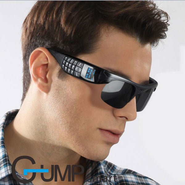 Bluetooth Smart Phone Wearable Digital Camera Glasses Dial Call