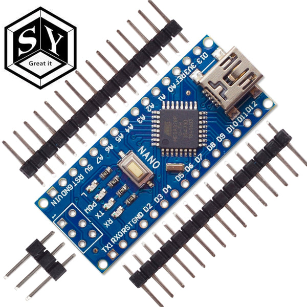 Nano 1PCS Mini USB With the bootloader Nano 3.0 controller compatible for arduino CH340 USB driver 16Mhz NANO V3.0 Atmega328P