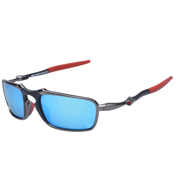MTB Polarized Running Glasses Alloy Frame Cycling Glasses