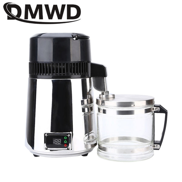 DMWD Pure Water Distiller 304 Stainless Steel Machine Dispenser