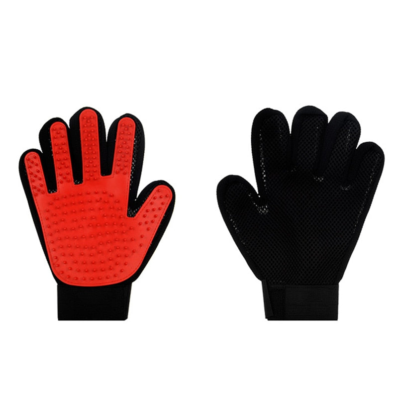 HOOPET Cat Grooming Glove for Cats Gloves Comb for Animals