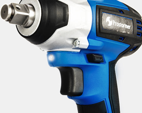 PROSTORMER Brushless Impact Cordless Wrench Max Torque Socket
