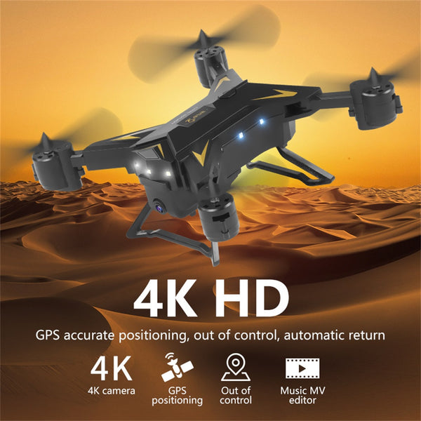 GPS Drone 4K HD Camera 5G WIFI Quadcopter Foldable Drone