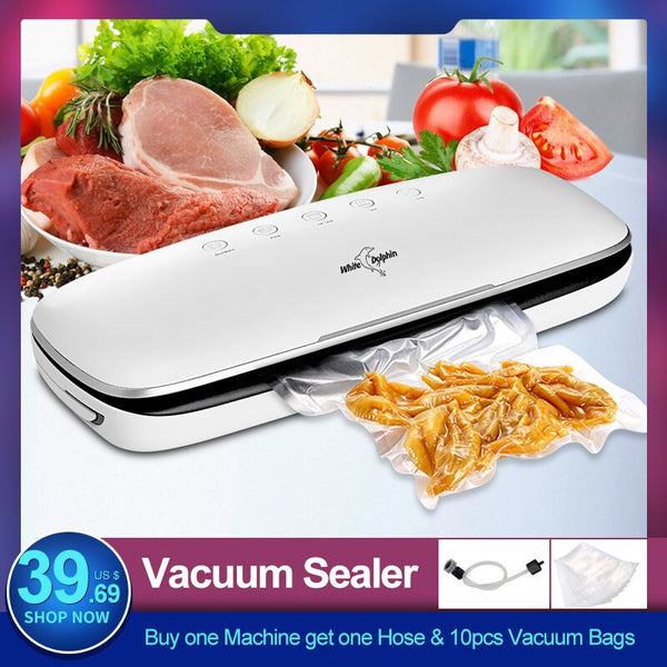 White Dolphin Best Food Vacuum Sealer Machine