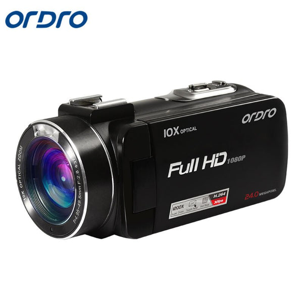 Ordro Z82 Digital Video Camera HD 1080P Camcorder