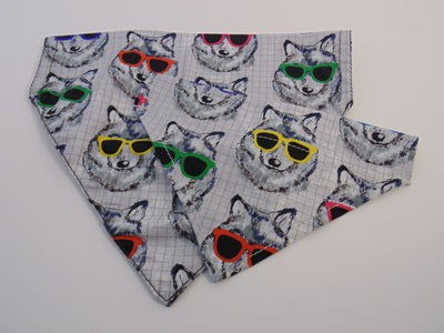 Cool Husky Dog Bandana - Fetch Dog