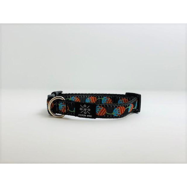 Strawberry Fields Small Dog Collar