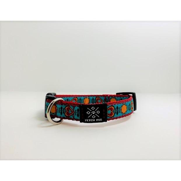 Retro Love Small Dog Collar Dog Collar Fetch Dog