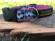 Echinacea Dog Collar - Fetch Dog