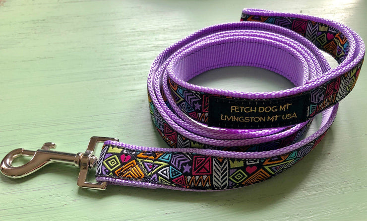 Abstract Tribal Dog Collar - Fetch Dog