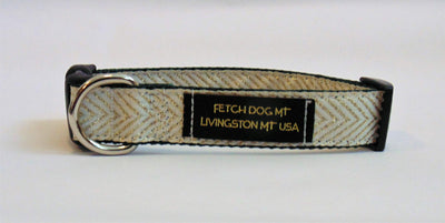Iridescent Chevron Dog Collar - Fetch Dog