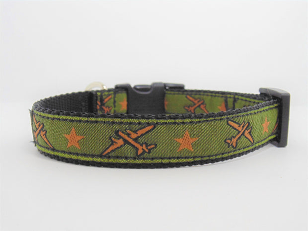 Airplane Dog Collar - Fetch Dog
