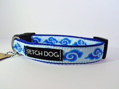 Blue Cloud Collar - Fetch Dog