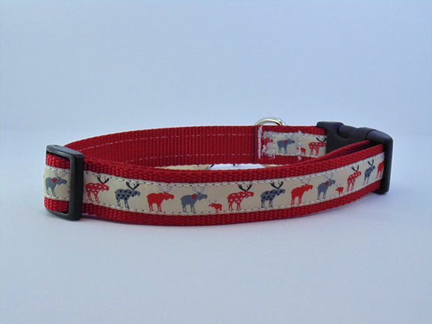 Moose Dog Collar - Fetch Dog