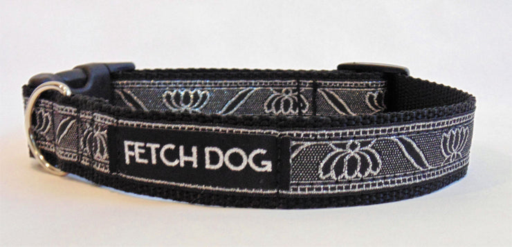 Lotus Flower Dog Collar - Fetch Dog