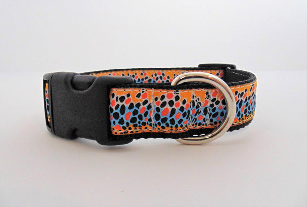 Brown Trout Dog Collar - Fetch Dog