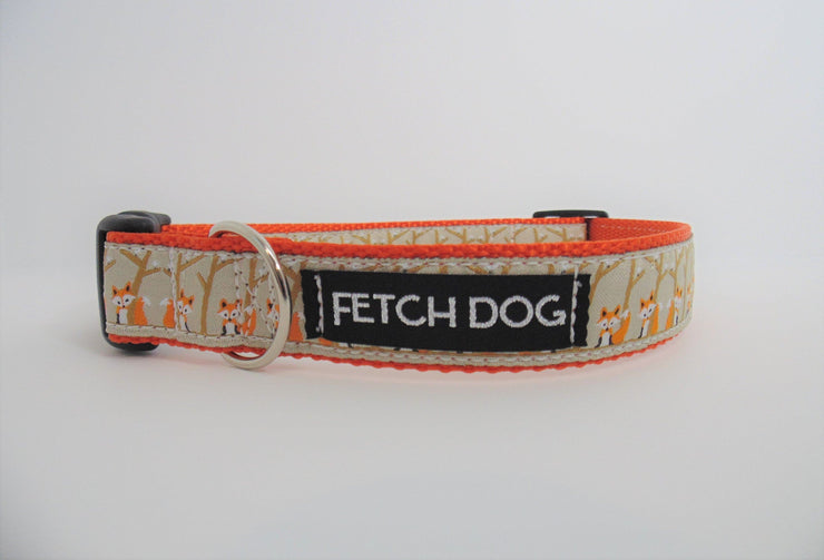 Fox Dog Collar - Fetch Dog