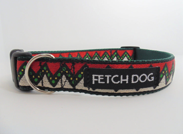 Retro Dog Collar - Fetch Dog