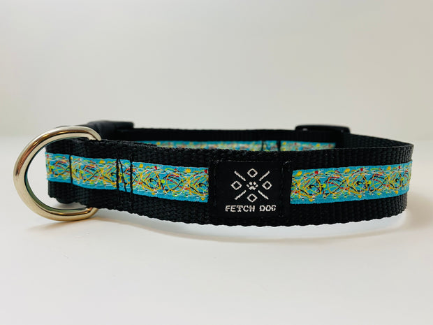 Paint Splatter Dog Collar