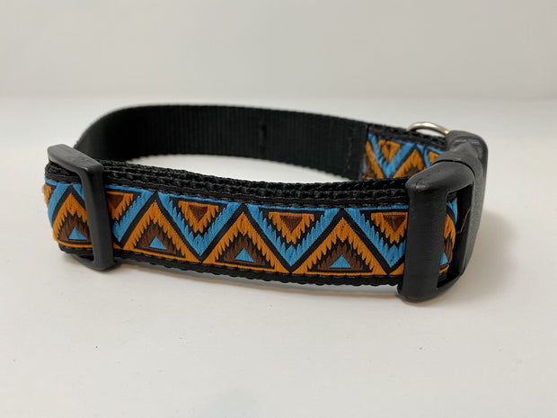 Mountains Geometric Dog Collar Dog Collar Fetch Dog