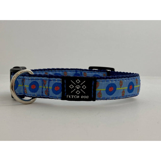 Poppies Small Dog Collar Dog Collar Fetch Dog