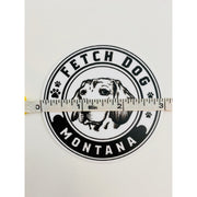 Logo sticker Sticker Fetch Dog