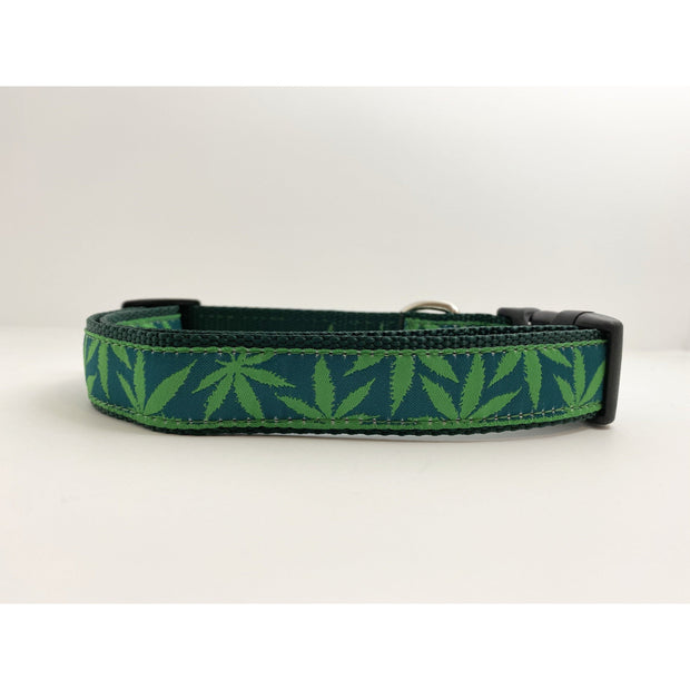 Cannabis Dog Collar Dog Collar Fetch Dog