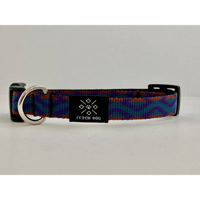 90s pattern Small Dog Collar Dog Collar Fetch Dog