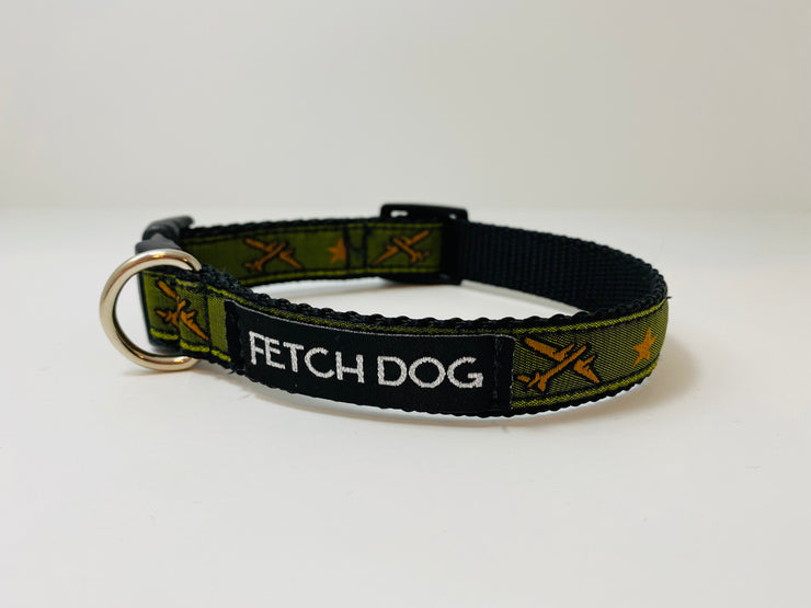 Airplane Small Dog Collar