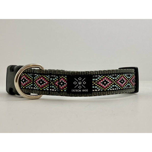 Geo Iridescent Dog Collar Dog Collar Fetch Dog