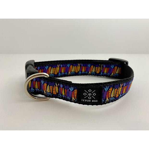 Colorful Carrots Dog Collar Dog Collar Fetch Dog