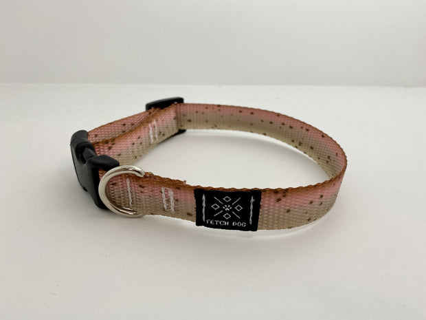 Cutthroat Trout Dog Collar Dog Collar Fetch Dog