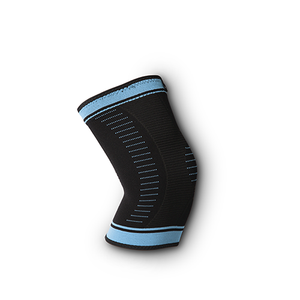 Knee Sleeve Support Brace for Men & Women - Black & Blue