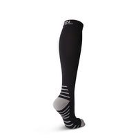 Compression Socks for Men & Women - Black & Gray