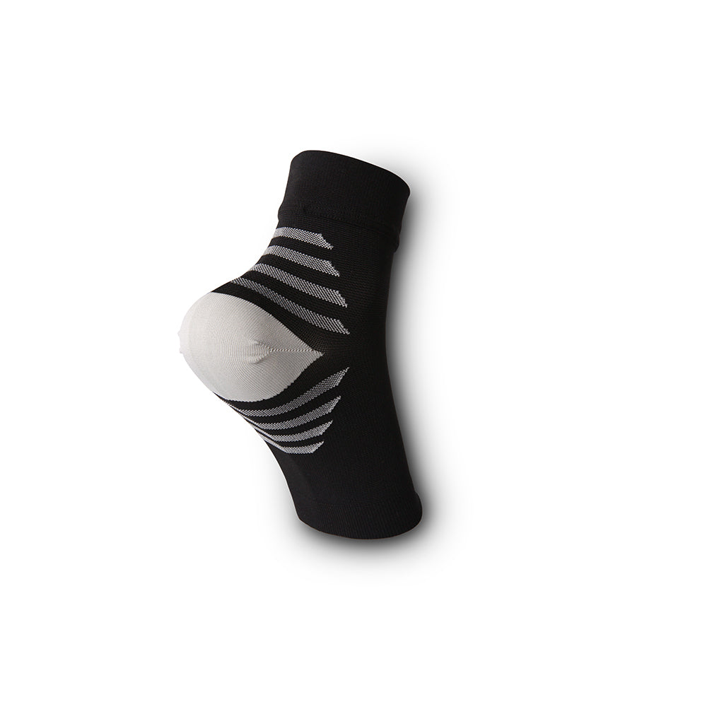 Ankle Sleeve Compression Brace & Plantar Fasciitis Socks/Sleeves - Black & Gray