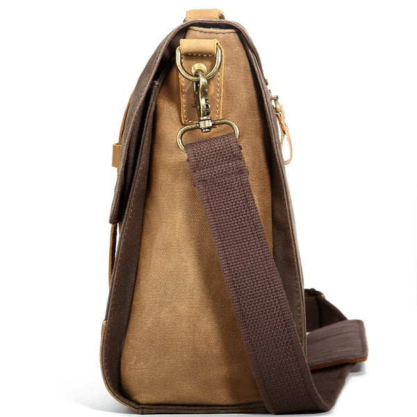 Cross Twins Leather Shoulder Bag with Cool Looks and High Quality