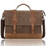 Cross twins leather bag